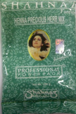 Shahnaz Husain Forever Henna Precious Herb Mix Professional Power Pack(200 g)  available at flipkart for Rs.195