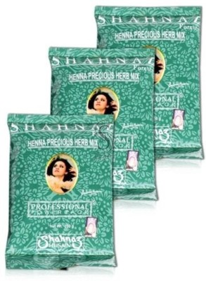 Shahnaz Husain Forever Henna Precious Herb Mix Professional Power Pack(600 g)  available at flipkart for Rs.399