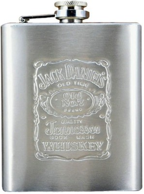 Highlight Jack Daniel's Stainless Steel Hip Flask(236 ml)  available at flipkart for Rs.222