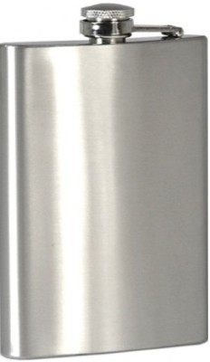Raghav Plain Stainless Steel Hip Flask(207 ml)  available at flipkart for Rs.219