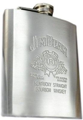 Hip Flask Jim Beam Stainless Steel Hip Flask(236 ml)  available at flipkart for Rs.225