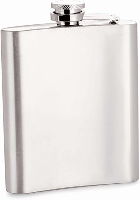 Era Screw-top Stainless Steel Hip Flask(200 ml)  available at flipkart for Rs.220
