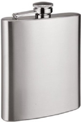 Protos Slim Screw Cap Stainless Steel Hip Flask(200 ml)  available at flipkart for Rs.190