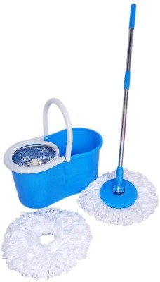 Funtabulas Easy Steel Wringer Floor Cleaner FSM001 Mop Set at flipkart