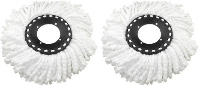 Dragon 2 pcs Magic Spin Mop Replacement Head Refill for 360 degree Rotation cleaning wipes Cleaning Wipe  available at flipkart for Rs.189