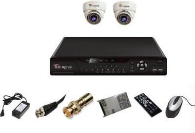 Tentronix-T-4AVR-2-D10-4Channel-AHD-DVR-+-2-(1-MP-36-IR)-Dome-Cameras