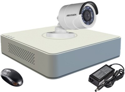 Hikvision-DS-7104HGHI-E1-4-Channel-DVR-1-(DS-2CE16COT-IR)-Bullet-Camera-(With-Adapter-&-Mouse)