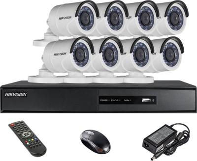 Hikvision-DS-7208HGHI-SH-8-Channel-Dvr-,8(DS-2CE16COT-IR)-Bullet-Cameras