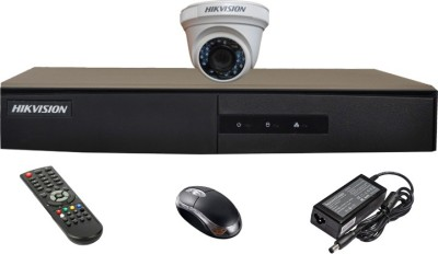 Hikvision-DS-7204HGHI-E1-4-CH-Dvr,-1(DS-2CE56COT-IRP)-Dome-Camera(with-Mouse,Remote)