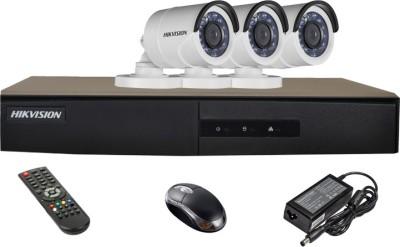 Hikvision-DS-7204HGHI-E1-Turbo-Mini-Dvr-,-3(DS-2CE16C2T-IR)-Bullet-Cameras