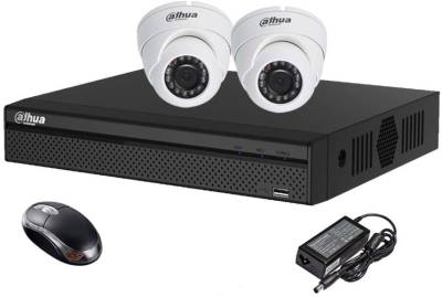 Dahua-DH-HCVR4104HS-S2-4CH-Dvr,-2(DH-HAC-HDW1000RP-0360B)-Dome-Camera-(With-Mouse)