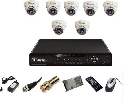 Tentronix-T-8CH-8-D8-8Channel-DVR-+-8-(800TVL)-IR-Dome-CCTV-Cameras