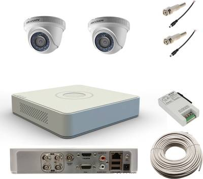 Hikvision-DS-7104HWI-SH-4Channel-DVR-+-2-Dome-CCTV-Camera-(With-Cable,-BNC-Connectors,-DC-Pins)