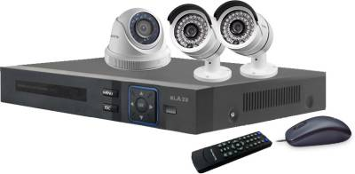 Blaze-BGD1B2-HD-4-Channel-Dvr-(With-1-Dome-&-2-Bullet-Cameras-,Remote,-Mouse)