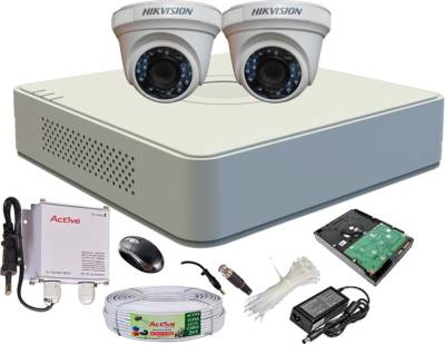 Hikvision-DS-7104HGHI-E1-4-CH-Turbo-Mini-Dvr-,-2(DS-2CE56C2T-IRB)-Dome-Cameras(with-Mouse,-Remote,-500GB-HDD,-Cable,-Bnc-4Pcs,-Dc-2Pcs,-Power-Supply,Adapter-)
