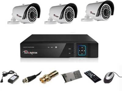 Tentronix-T-4ACH-3B20A-4-Channel-Dvr,-3-(2-MP)-Bullet-CCTV-Camera
