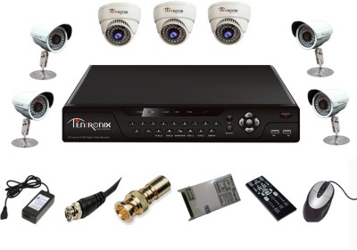 Tentronix-T-8CH-7-D3B48-8Channel-DVR-+-7-CCTV-Cameras