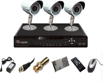 Tentronix-T-4AVR-3-B13-4Channel-AHD-DVR-+-3-(1-MP-36-IR)-Bullet-Cameras