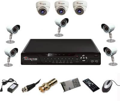 Tentronix-T-8AVR-8-D3B510-8-Channel-AHD-DVR-3-(1-MP-36-IR-Dome-)-5-(1-MP-36-IR-Bullet)-Cameras
