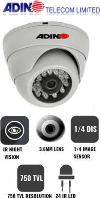 Adino-HLCM75C-750TVL-Dome-Camera