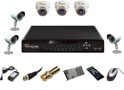 Tentronix-T-8CH-6-DB8-8Channel-DVR-+-3-(800TVL)-Dome-+-3-(800TVL)-Bullet-CCTV-Cameras