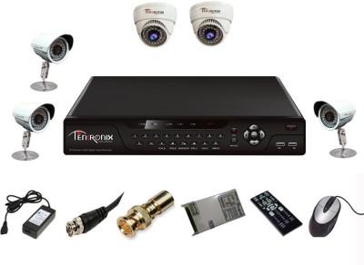 Tentronix-T-8AVR-5-B3D210-8-Channel-AHD-DVR-+-2-(1-MP-36-IR-Dome)-+-3-(1-MP-36-IR-Bullet)-Cameras
