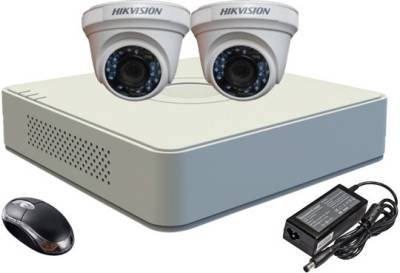 Hikvision-DS-7104HGHI-F1-Mini-4CH-Dvr,-2(DS-2CE56COT-IRP)-Dome-Cameras-(with-Mouse)