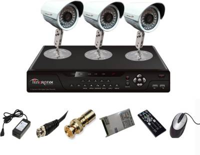 Tentronix-T-4AVR-3-B10-4Channel-AHD-DVR-3-(1-MP-36-IR)-Bullet-Cameras