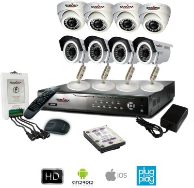 ROBORIX-4B4D-HD2K-8-Channel-Dvr,-4(2-MP)-Dome,-4(2-MP)-Bullet-CCTV-Cameras-(With-Accessories)