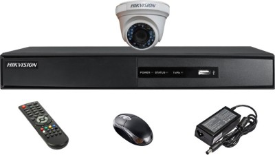 Hikvision-DS-7204HGHI-SH-4CH-Dvr,-1(DS-2CE56C2T-IRP)-Dome-Camera-(With-Mouse,-Remote)