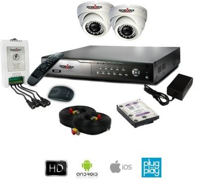 ROBORIX-2D-HD2WK-4-Channel-Dvr,-2(2-MP)-Dome-CCTV-Cameras-(With-Accessories)