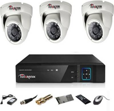 Tentronix-T-4ACH-3D20A-4-Channel-Dvr,-3(2-MP)-Dome-CCTV-Cameras