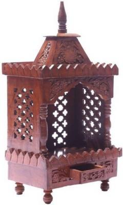 Simran Handicrafts Wooden Home Temple(Height: 53.24 cm) at flipkart