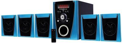KRISONS (POLO) 5.1 BLUETOOTH MULTIMEDIA SPEAKER FOR HOME/ THEATRE USE Bluetooth Home Theatre(Black, 5.1 Channel)