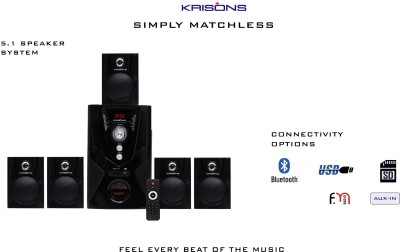KRISONS KES-700 5.1 Home Cinema(BLUETOOTH, FM, USB, AUX IN)