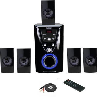 VSURE VHT-5021 MULTEMEDIA SPEAKER with USB,FM & AUX-IN 5.1 Home T...