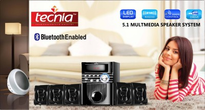 TECNIA TA 501BLUETOOTH 5.1 Home Cinema(DVD, TV, IPHONE, ANAROID PHONE, LAPTOP)