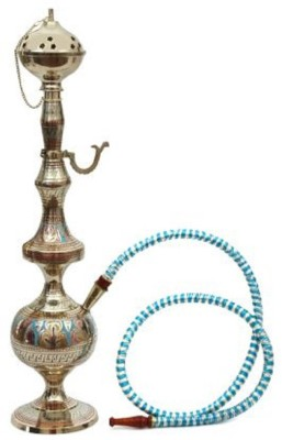 50% OFF on Hapuka 21 inch Brass Hookah(Gold) on Flipkart