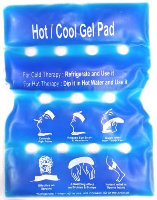 Health Track Flexible Hot & Cold gel Pack(Blue)  available at flipkart for Rs.173