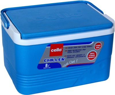 Cello Ice Box - 8 Litres Ice Box(Blue, 8 L)