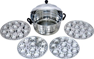 CORPORATE OVERSEAS Standard Idli Maker(4 Plates , 48 Idlis ) at flipkart
