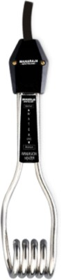 Maharaja Whiteline Rod Silver and Black 1500 W Immersion Heater Rod(Water, Beverages)