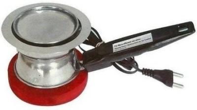 MK Flem O Electric Dhoop Dani Bakhoor Burner Steel Incense Holder(Silver)  available at flipkart for Rs.329