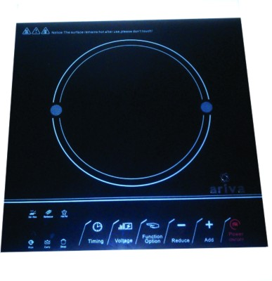 Ariva Fura Induction Cooktop(Black, Touch Panel) at flipkart