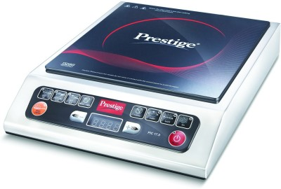 Prestige 41934 Induction Cooktop(Black, White, Touch Panel)
