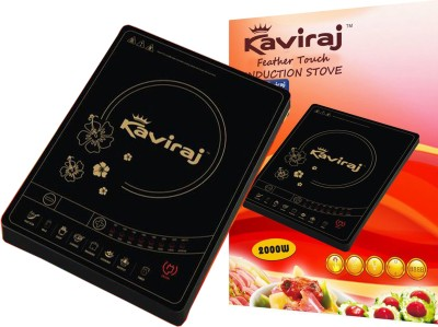 Kaviraj Kisft Induction Cooktop(Black, Touch Panel)