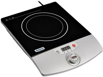 Bach Knob Induction Cooktop(Black, Silver, Jog Dial)