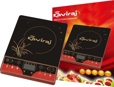 Kaviraj Kisreg Induction Cooktop(Black, Push Button)