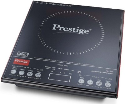 Prestige 41941 Induction Cooktop(Black, Touch Panel)