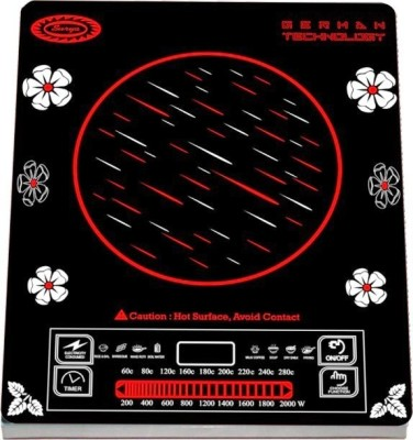 Surya DZ18IN Radiant Cooktop(Multicolor, Touch Panel)